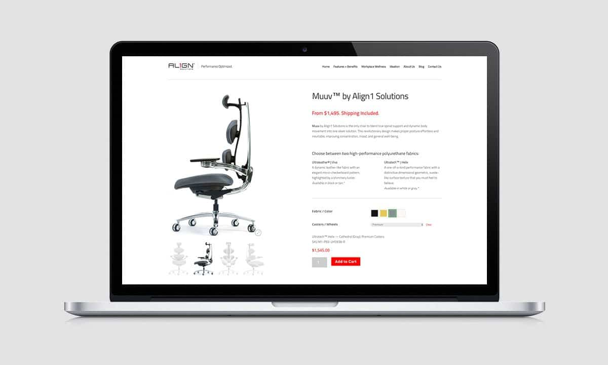 BCBD Align1 Solutions Muuv™ Website Store