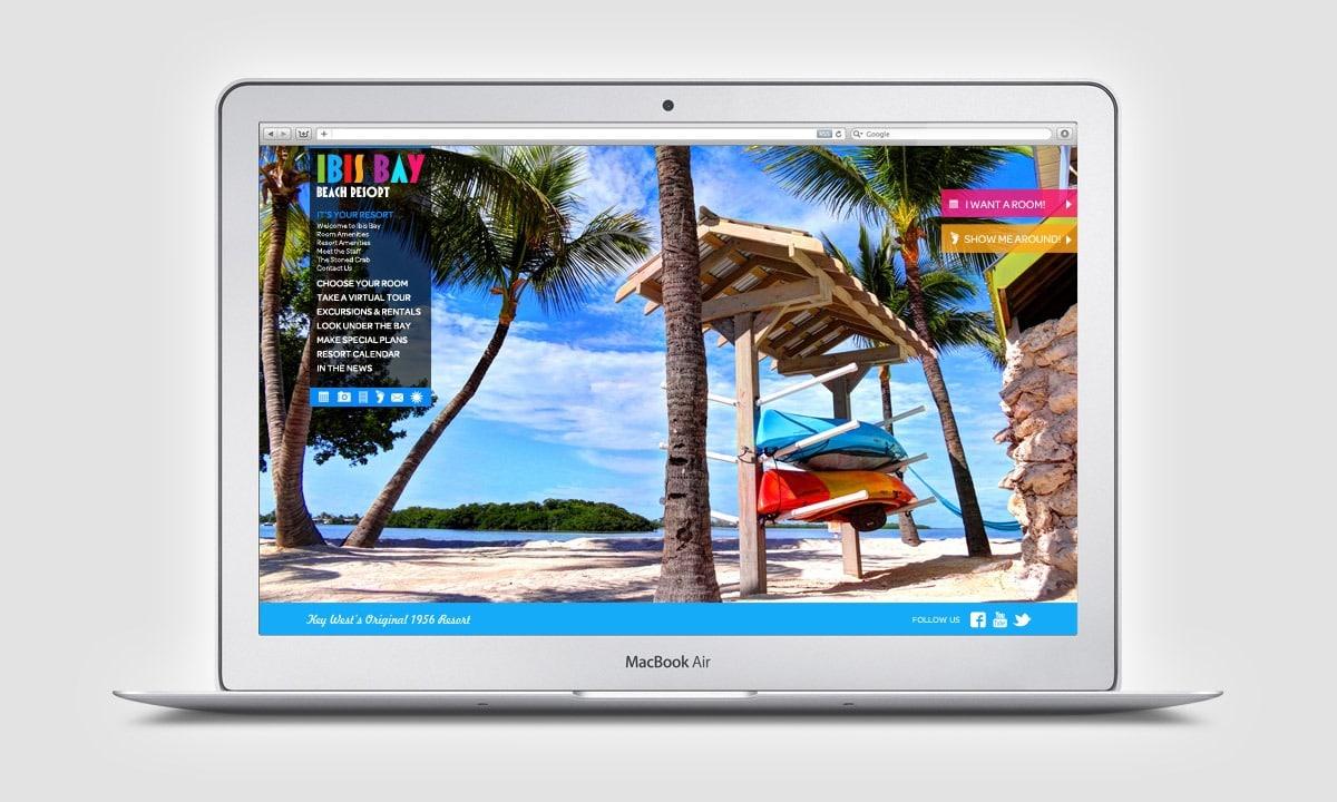BCBD Ibis Bay Resort Website