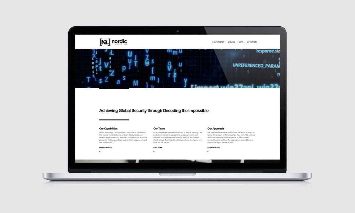 BCBD Nordic Innovation Labs Website