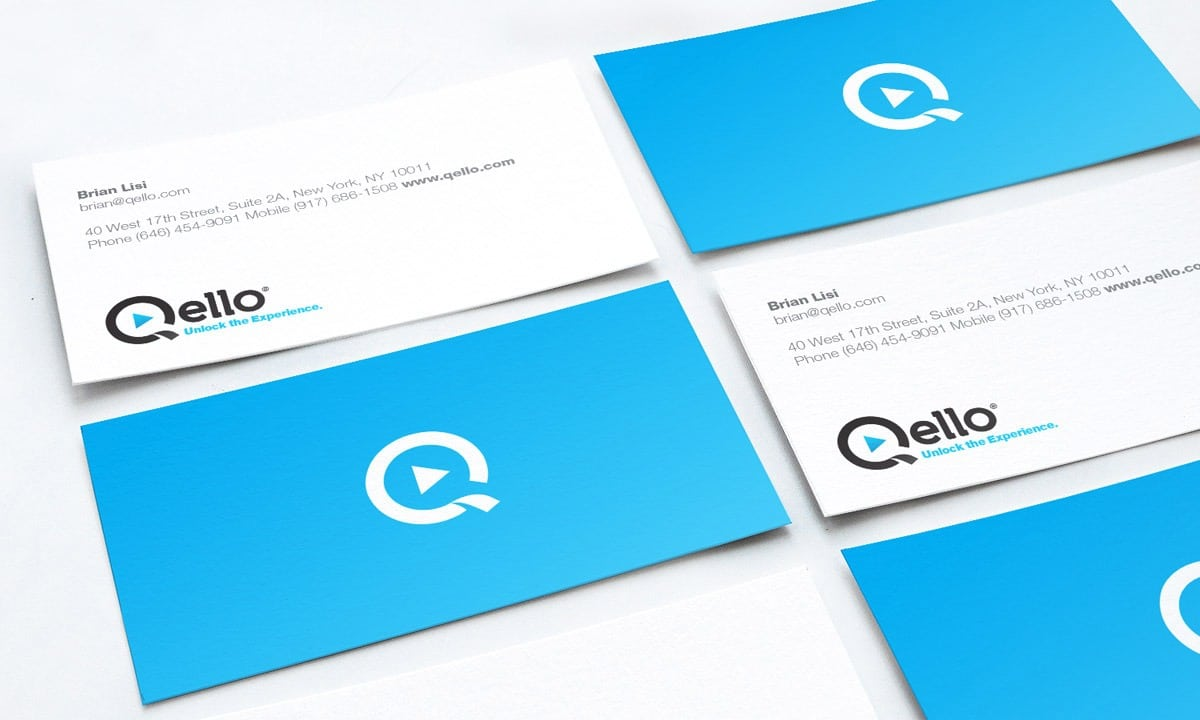 BCBD Qello Concerts Business Cards