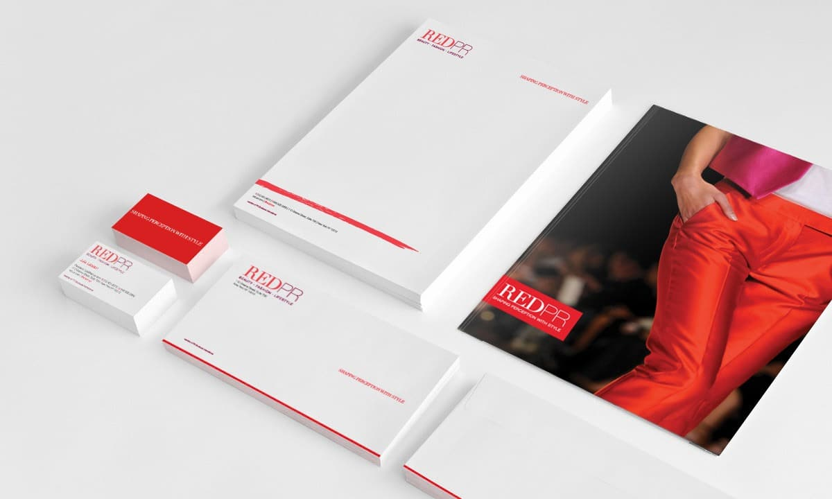 BCBD RED PR Stationery