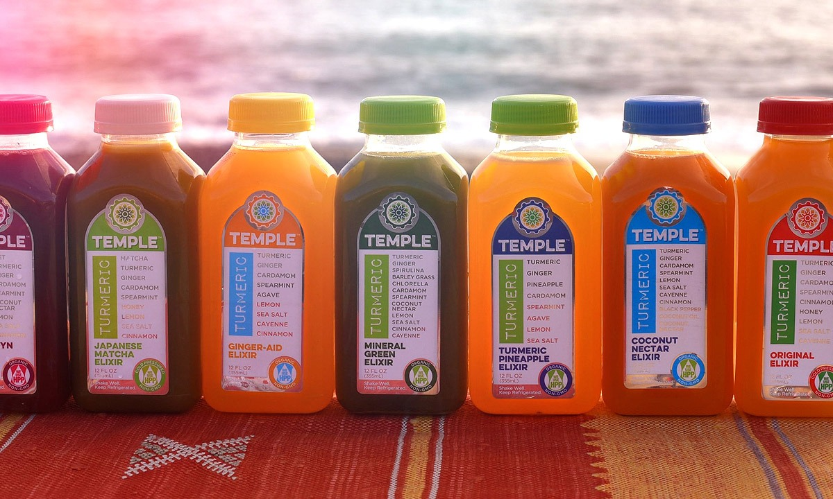 BCBD Temple Turmeric 12oz Bottles