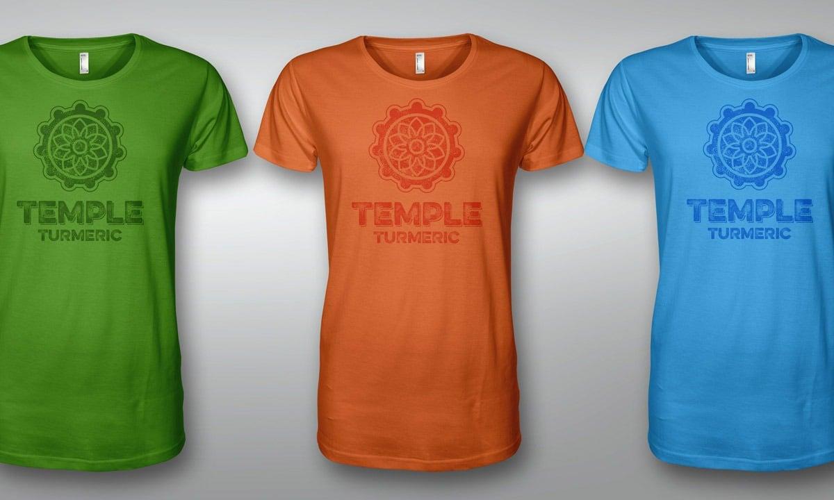 BCBD Temple Turmeric T-Shirts