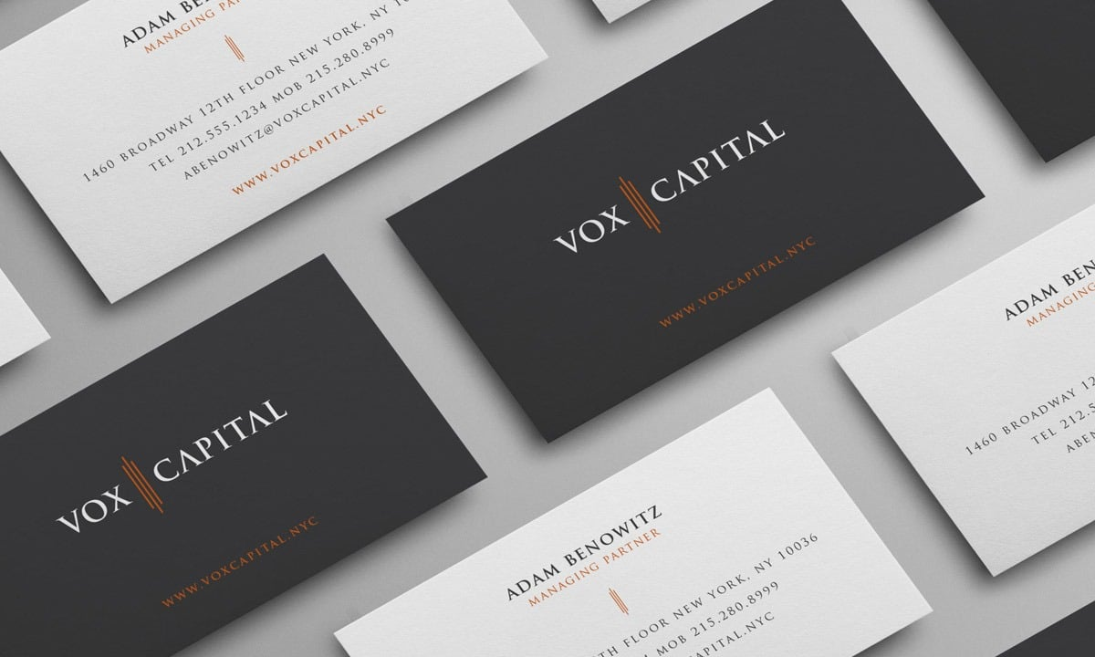 BCBD | Venture Capital Branding & Design | VOX Capital NYC