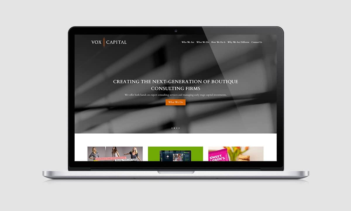 BCBD Vox Capital NYC Website