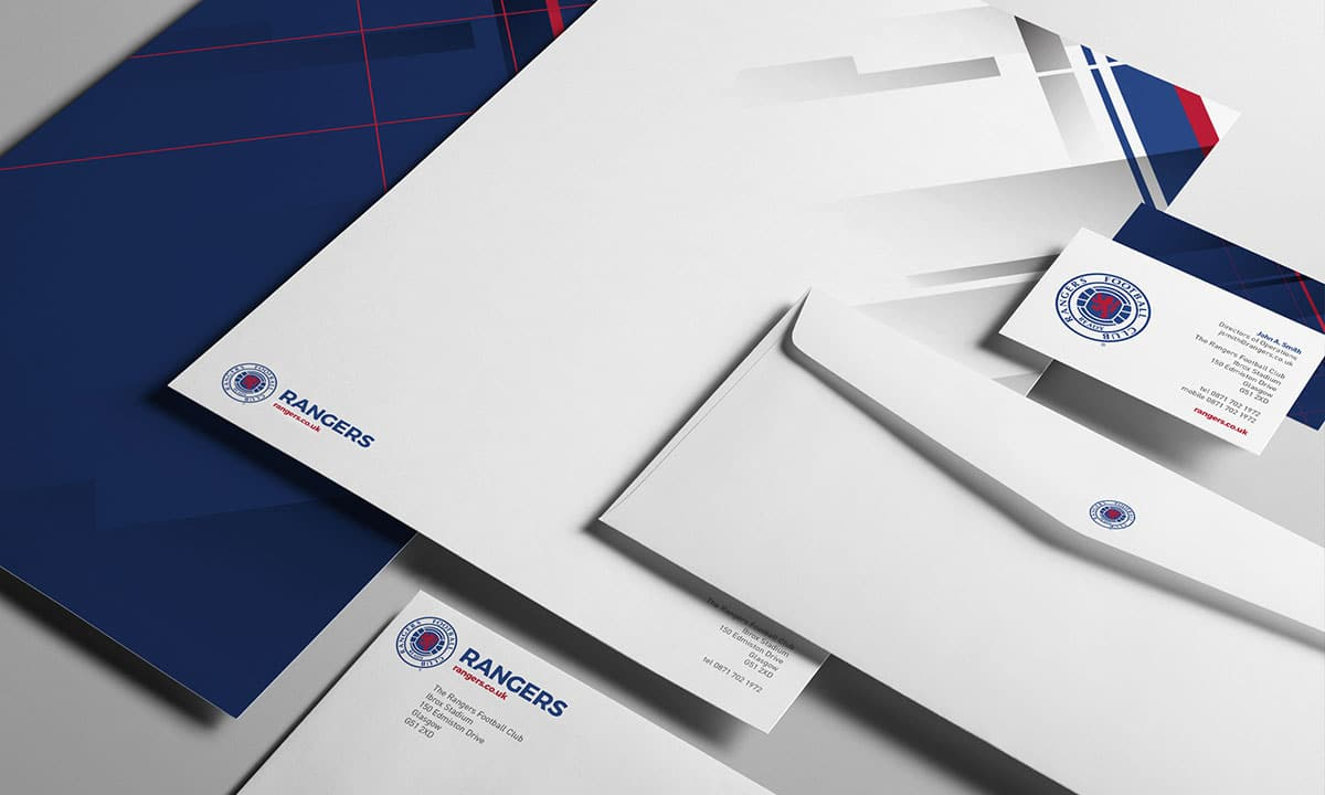 BCBD Brand Strategy Case StudyRangers FC Corporate Identity