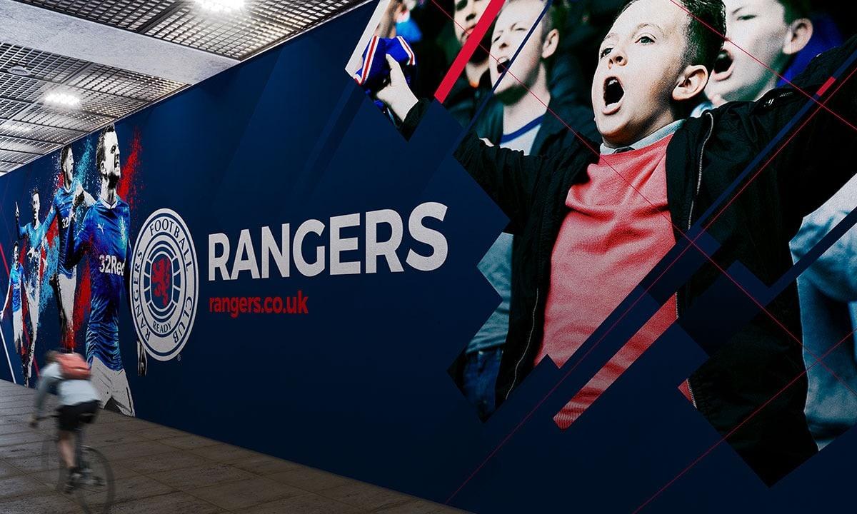 BCBD Brand Strategy Case Study Rangers FC Subway Ad