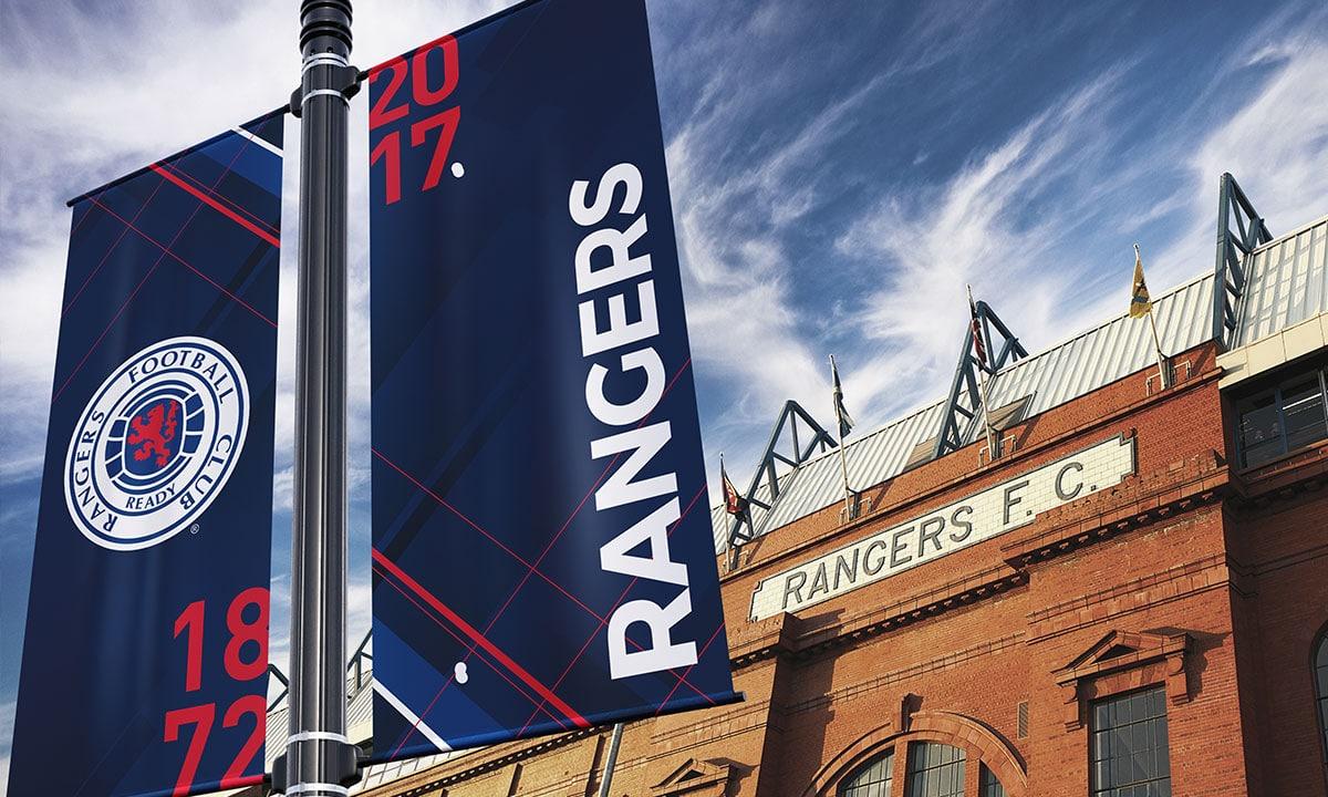 BCBD Brand Strategy Case Study Rangers FC Ibrox Banners