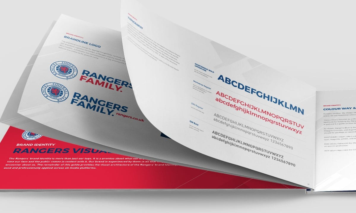 BCBD Brand Strategy Case Study Rangers FC Brand Guidelines