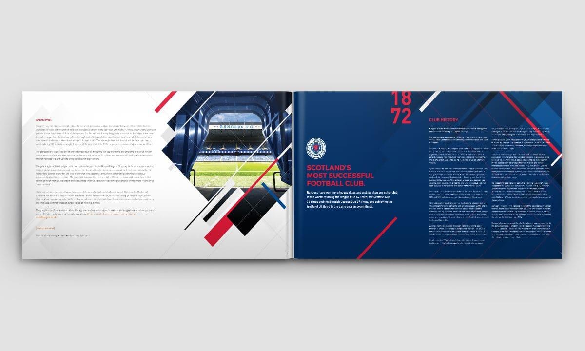 BCBD Brand Strategy Case Study Rangers FC Brand Book