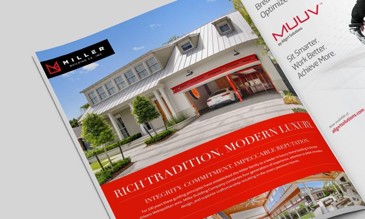BCBD Miller Building Company Luxury Ad