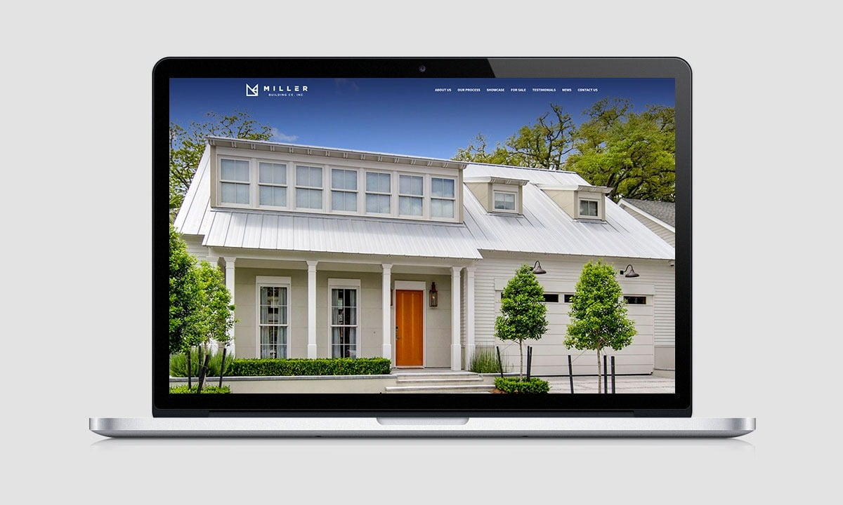 BCBD Miller Building Company Website