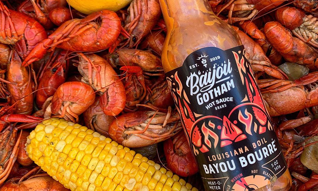 BCBD Bayou Gotham Hot Sauce