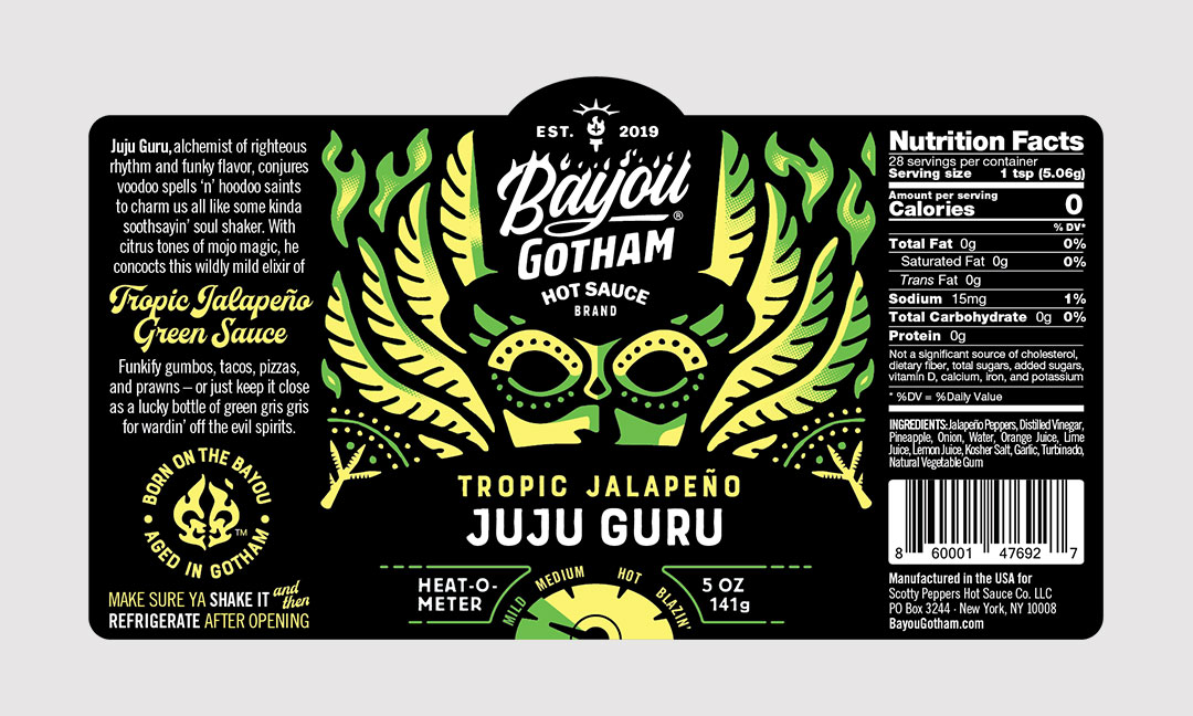 BCBD Juju Guru Label